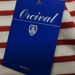オーチバル子供のボーダーTシャツを購入